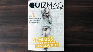 Cooles Crowdfunding: QUIZmag - Das erste RätselMAGAZIN | Gadgets | Was is hier eigentlich los? | wihel.de