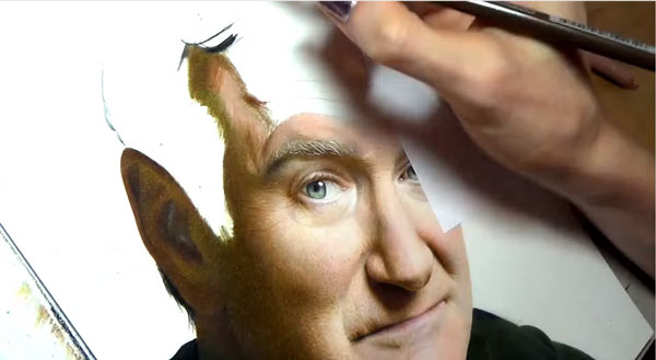 Ein Robin Williams-Tribute von Heather Rooney | Design/Kunst | Was is hier eigentlich los? | wihel.de