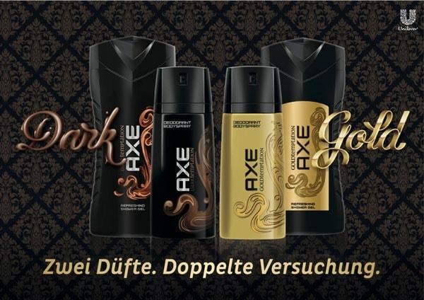 Gewinnspiel: AXE Dark & Gold Temptation - Zwei Düfte, doppelte Versuchung | sponsored Posts | Was is hier eigentlich los? | wihel.de