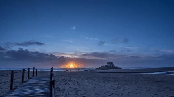 Timelapse: Sunset Lapse