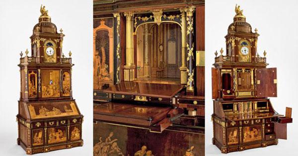Alt, aber fantastisch: Der Schreibtisch von Friedrich Wilhelm II.