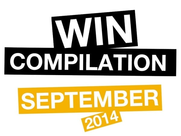 Win-Compilation im September 2014