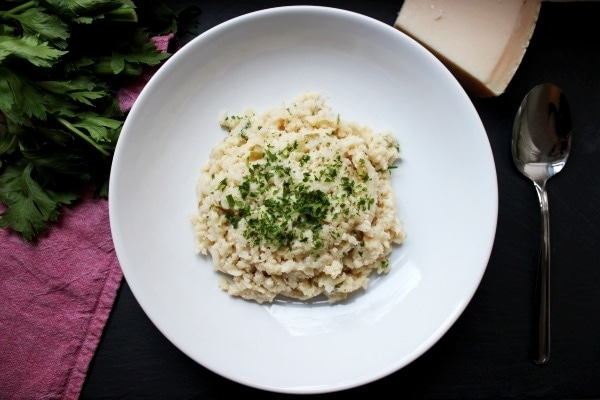 Line, koch doch mal... Drei-Käse-Risotto (vegetarisch)