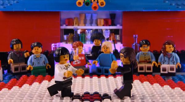Film-Szenen mit LEGO nachgestellt