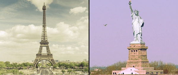Paris vs. New York | Travel | Was is hier eigentlich los? | wihel.de