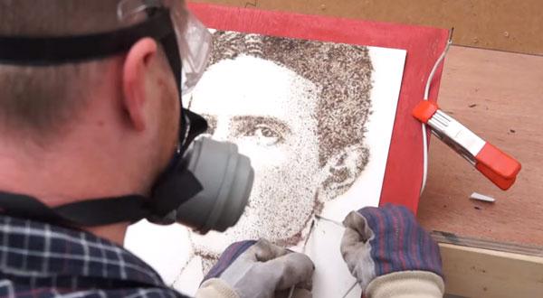 Phil Hansen zeichnet mit Strom | Design/Kunst | Was is hier eigentlich los?