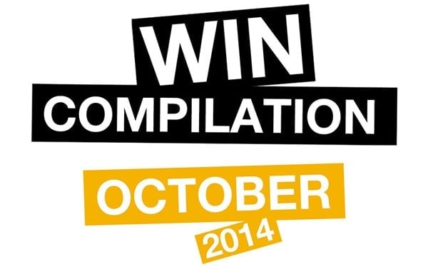 Win-Compilation im Oktober 2014