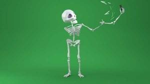 Als Skelett hat man es nicht einfach | Animation | Was is hier eigentlich los? | wihel.de