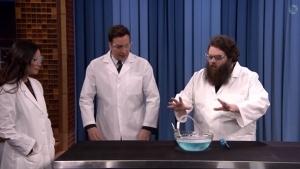 Coole Wissenschaftsexperimente bei Jimmy Fallon | Awesome | Was is hier eigentlich los? | wihel.de