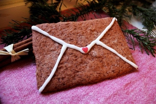 Line, back doch mal... Weihnachtspost aus Lebkuchen | Line backt | Was is hier eigentlich los?