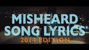 Misheard Lyrics 2014 | Musik | Was is hier eigentlich los? | wihel.de
