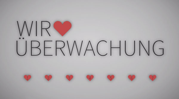 Wir lieben Überwachung - Neues Video von Alexander Lehmann | Animation | Was is hier eigentlich los? | wihel.de