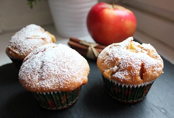 Line, back doch mal... Joghurt-Apfel-Zimt-Muffins -03