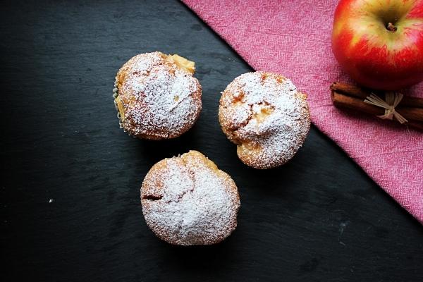 Line, back doch mal... Joghurt-Apfel-Zimt-Muffins -04