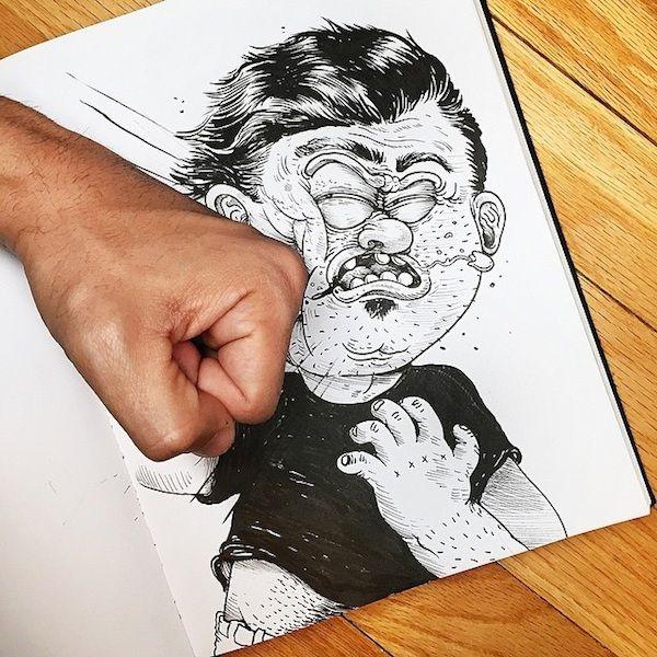 Gequälte Cartoons von Alex Solis | Design/Kunst | Was is hier eigentlich los?