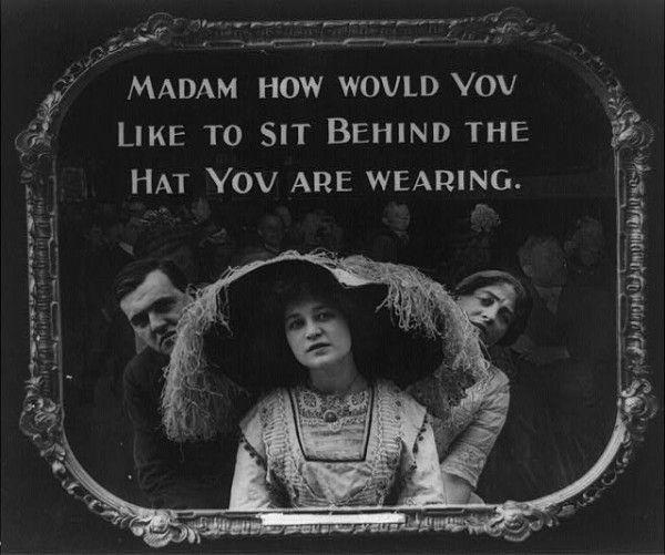 Kino-Regeln aus dem Jahre 1912 | Kino/TV | Was is hier eigentlich los?