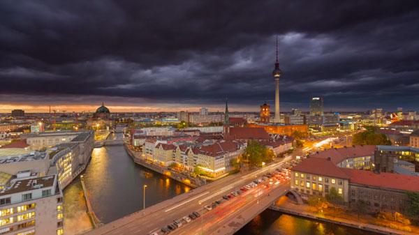 Timelapse: Berlin Time