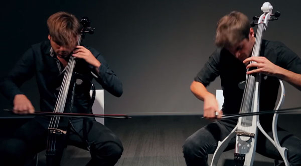 2CELLOS performen Guns'n'Roses' Welcome to the Jungle | Musik | Was is hier eigentlich los? | wihel.de