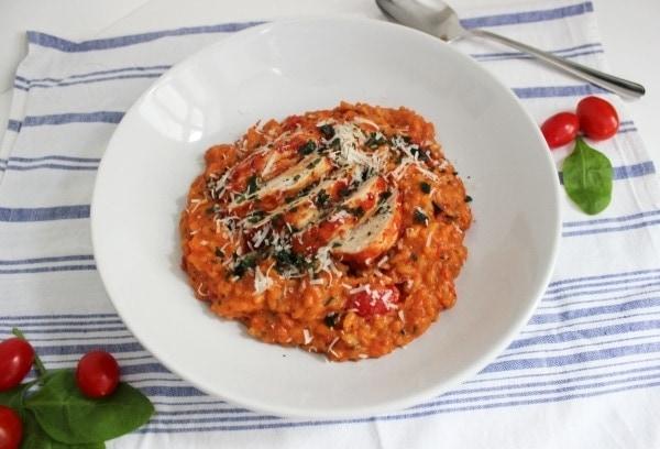 Line, koch doch mal... Dreierlei Tomatenrisotto mit Orangen-Hähnchen | Line kocht | Was is hier eigentlich los?