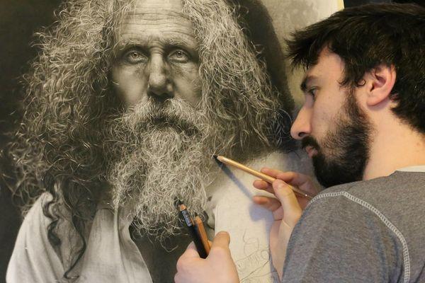 Super-Mega-Hyperrealistische Zeichnungen von Emanuele Dascanio | Design/Kunst | Was is hier eigentlich los?