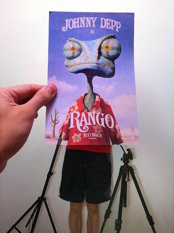 Weiterhin gekonnt in Szene gesetzte Filmposter