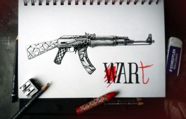 Bleistiftzeichnungen von PEZ | Design/Kunst | Was is hier eigentlich los?
