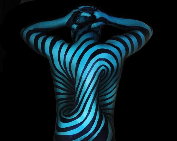 Body Painting von Natalie Fletcher