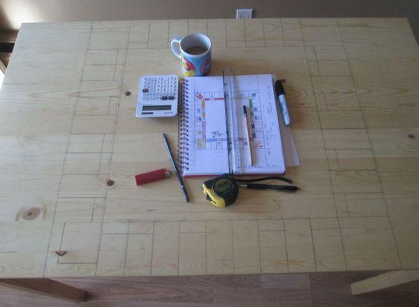 Ein Tisch zu Monopoly transformiert | Handwerk | Was is hier eigentlich los? | wihel.de