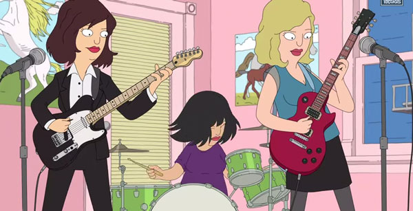 Sleater Kinney - A New Wave