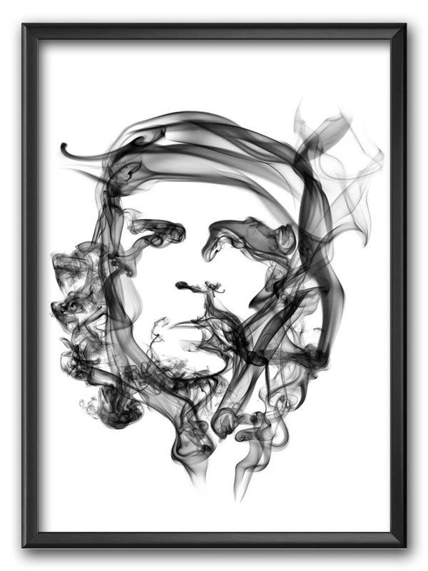 Smoke Posters von Octavian Mielu