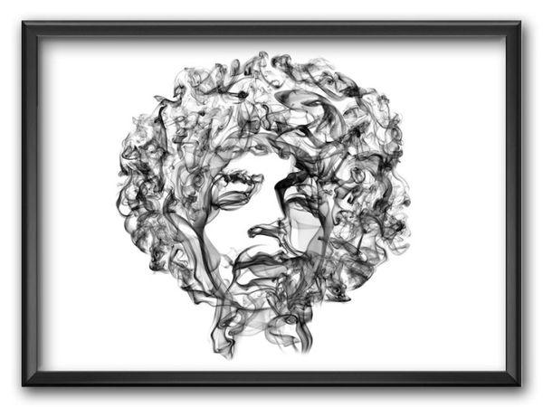 Smoke Posters von Octavian Mielu | Design/Kunst | Was is hier eigentlich los?