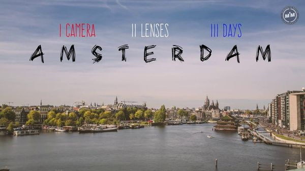 Timelapse: 3 Days in Amsterdam