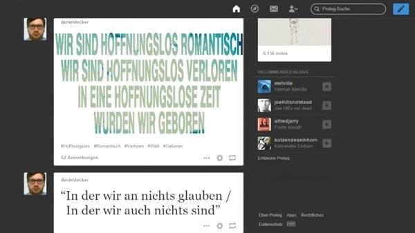 Daniel Decker - Prolog | Musik | Was is hier eigentlich los? | wihel.de