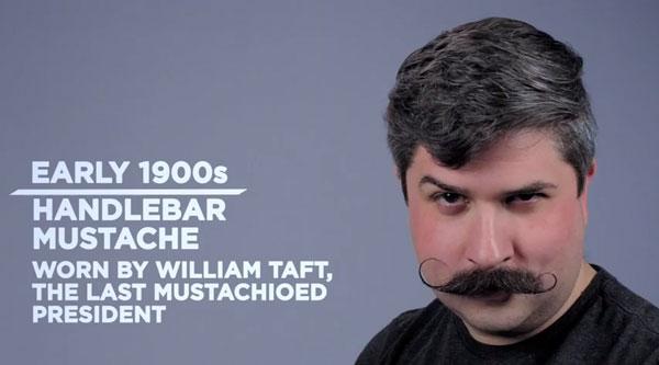 Die männliche Gesichtsbehaarung im Wandel der Zeit