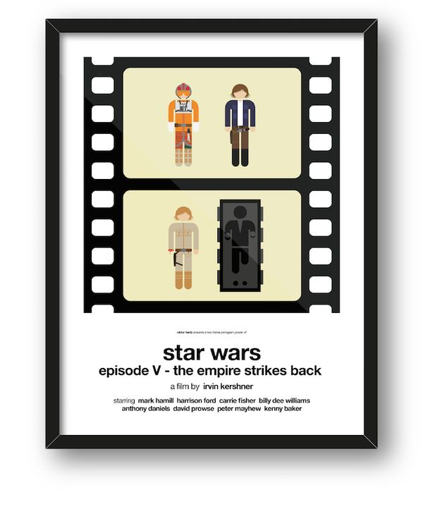 Filme auf zwei Piktogramme runtergebrochen