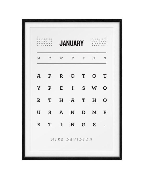 Typografische Inspiration für eure Wände von Kyle Robertson | Design/Kunst | Was is hier eigentlich los? | wihel.de