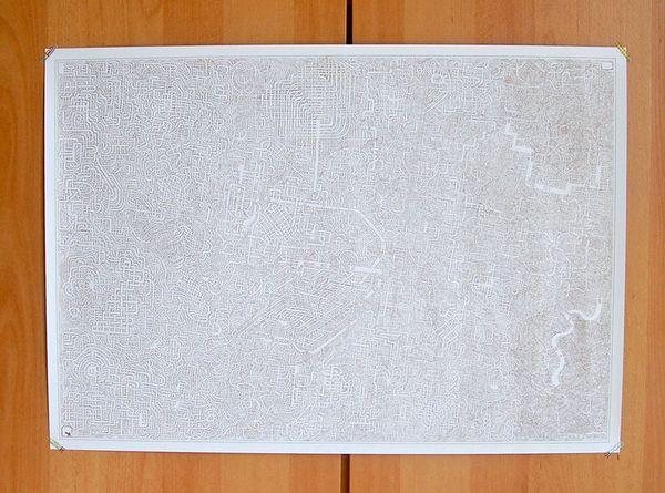 Wenn ein Vater ein Labyrinth für seine Tochter malt | Design/Kunst | Was is hier eigentlich los? | wihel.de