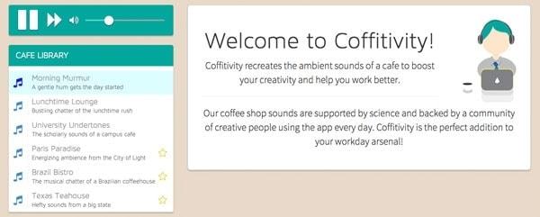 Cafè-Sound für ganz Kreative