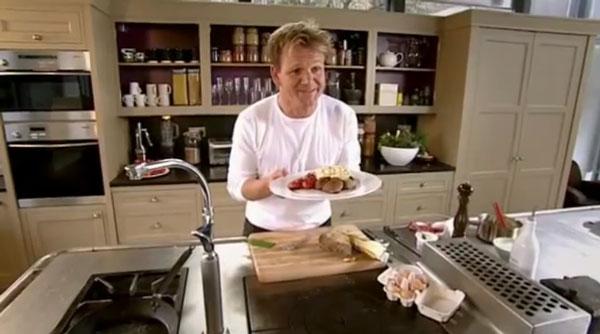Gordon Ramsay kocht Rührei