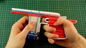 Handfeuerwaffen aus Papier gebaut | Gadgets | Was is hier eigentlich los? | wihel.de