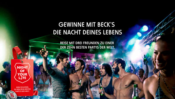 Beck's lädt ein: Die Night of your life #sponsored | sponsored Posts | Was is hier eigentlich los? | wihel.de