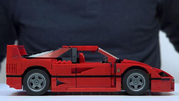 Der nächste Ferrari kommt von LEGO | Nerd-Kram | Was is hier eigentlich los?