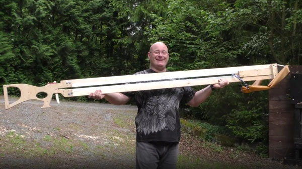 Der Torpedo Shooter 2.500 von Jörg Sprave | Gadgets | Was is hier eigentlich los?