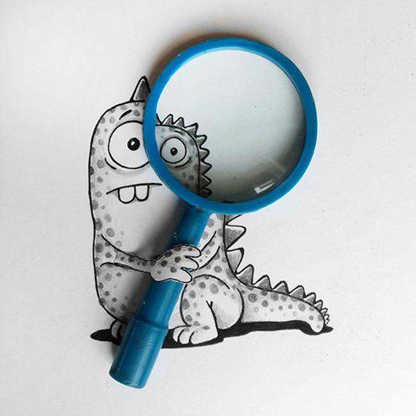 Die Abenteuer eines kleinen Drachen | Design/Kunst | Was is hier eigentlich los? | wihel.de