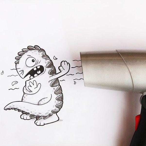 Die Abenteuer eines kleinen Drachen | Design/Kunst | Was is hier eigentlich los?