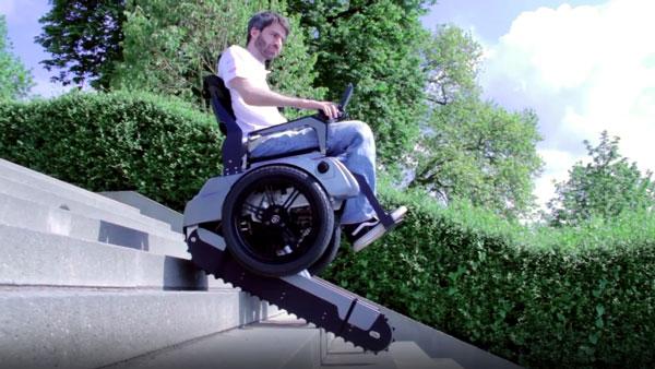 Ein für Treppen geeigneter Rollstuhl | Gadgets | Was is hier eigentlich los?
