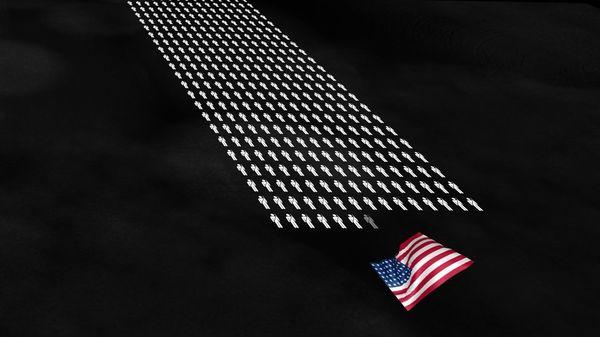 Eine Animation zu den Toden des 2. Weltkriegs