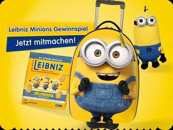 Gewinnspiel: Die Mionions sind los - Leibniz macht aus euch Gewinnern | sponsored Posts | Was is hier eigentlich los?