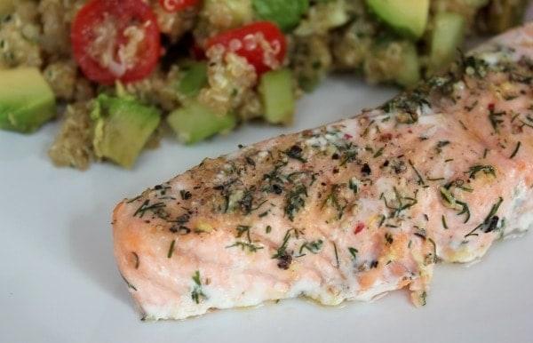 Line kocht: Quinoa-Salat mit Sommerlachs | Line kocht | Was is hier eigentlich los? | wihel.de