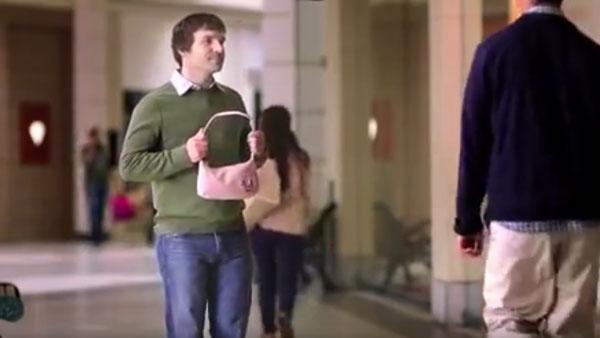 Männer und Handtaschen